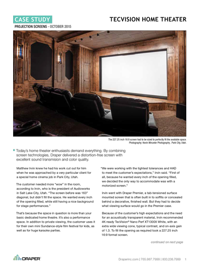 TecVision Home Theater