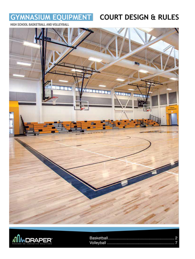 Gym Court Design High School
